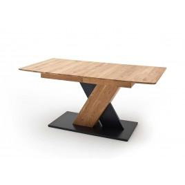 Table à manger 140 ou 180 cm extensible chêne sauvage