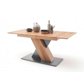 Table rectangulaire extensible 140 ou 180 cm bois de hêtre