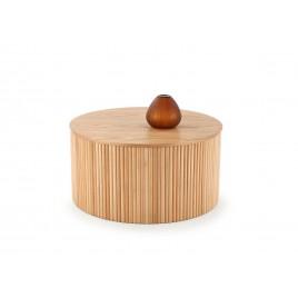 Table basse naturelle ronde 80 cm