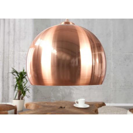 Suspension luminaire couleur cuivre 30 cm