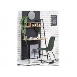 Bureau étagère noir 84 cm design style industriel