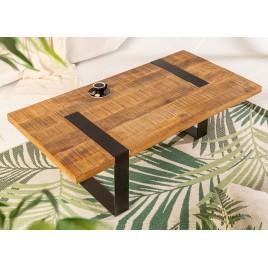 Table basse de salon bois de manguier 120 cm