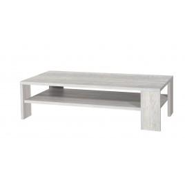 Table basse Design Rectangulaire en bois 2 plateaux