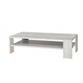 Table basse Design Rectangulaire en bois 2 plateaux CALISOT