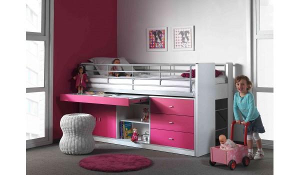lit rangement bureau. Black Bedroom Furniture Sets. Home Design Ideas