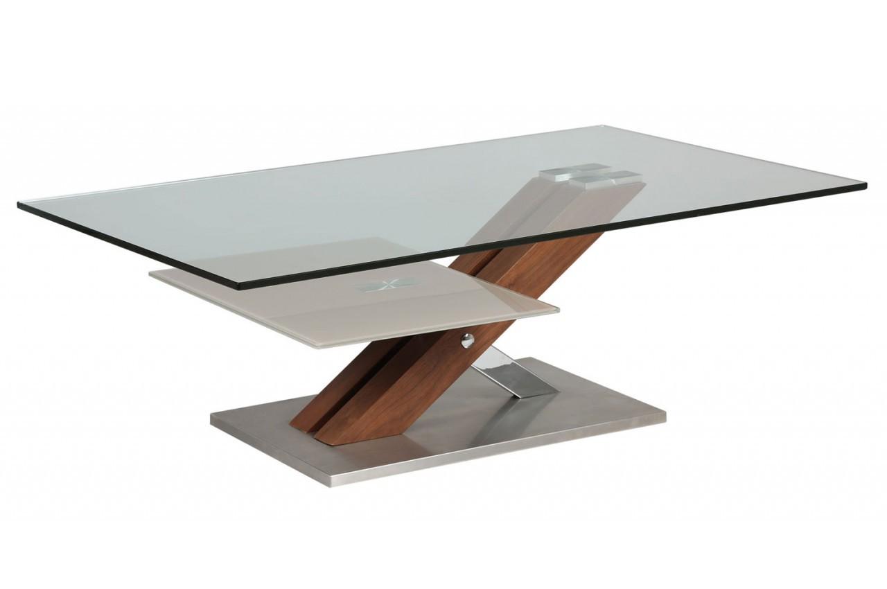 Table Basse En Verre Et Bois Urbantrott Com # Table Basse En Verre Tele