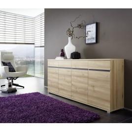 Bahut Buffet Salon Design décor bois hêtre - 192 cm
