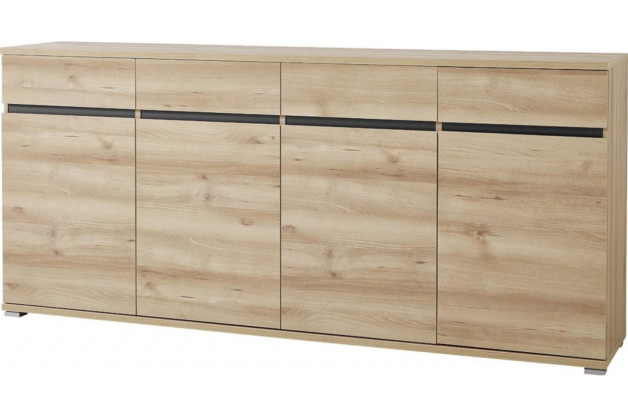 bahut buffet salon bois oscar cbc meubles. Black Bedroom Furniture Sets. Home Design Ideas
