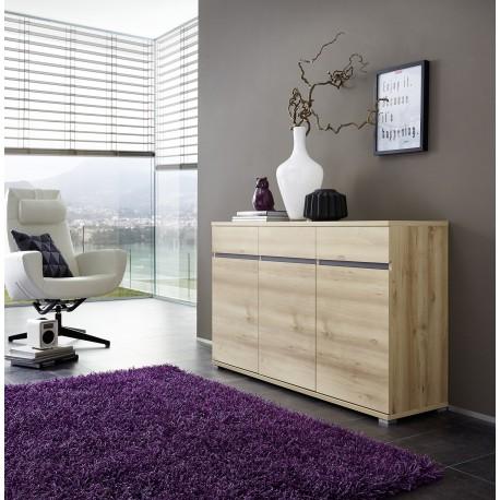 Bahut Buffet Salon Design Decor Bois Hetre Oscar Cbc Meubles