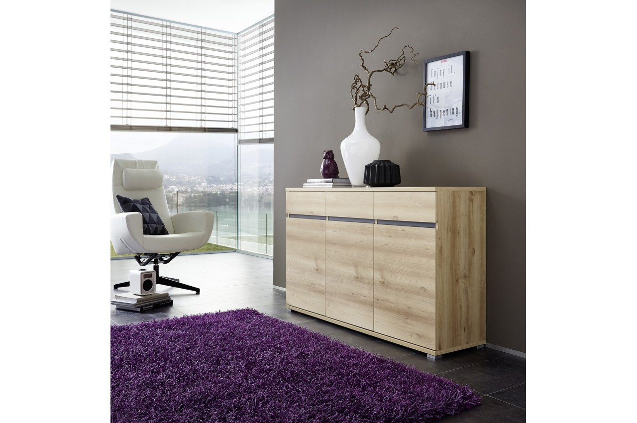 bahut buffet salon design d cor bois h tre oscar cbc meubles. Black Bedroom Furniture Sets. Home Design Ideas