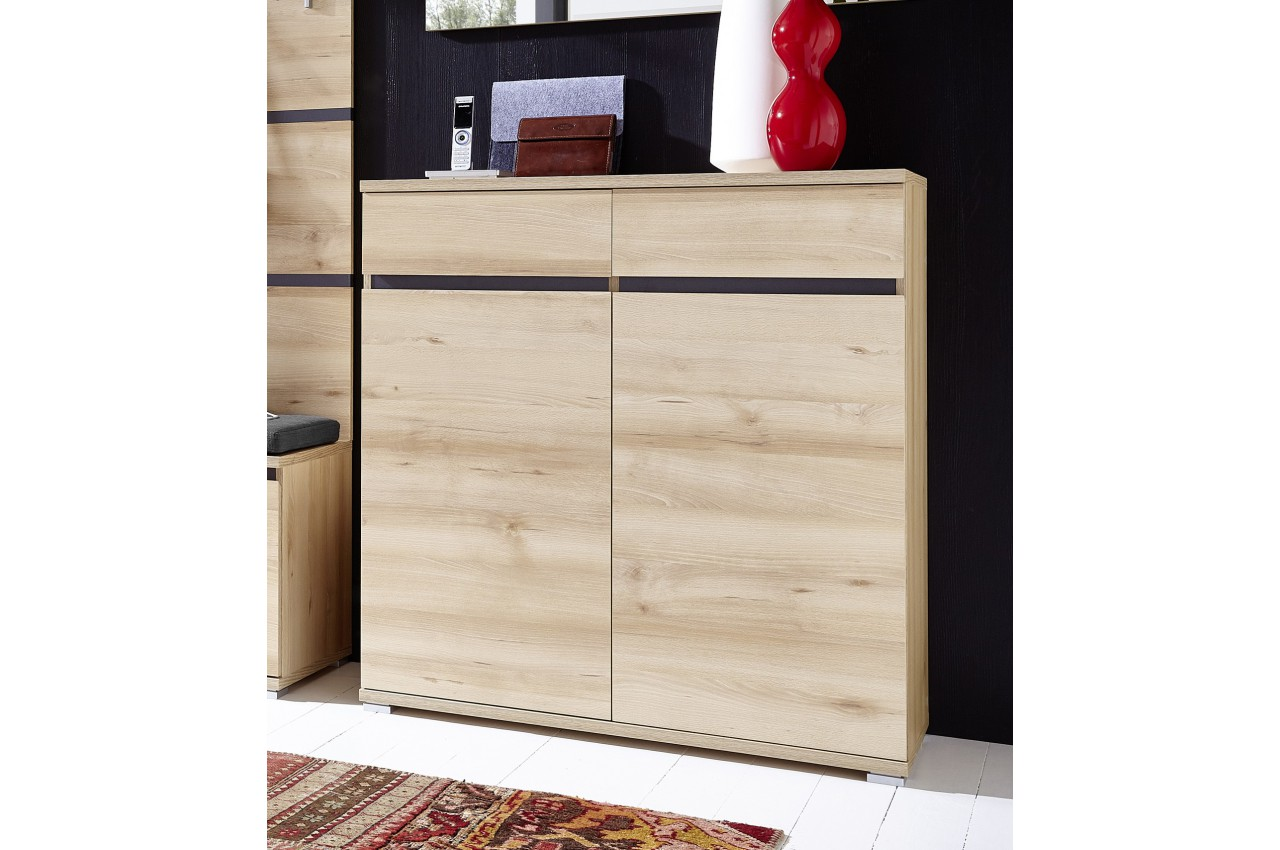 meuble chaussures d cor bois h tre 20 paires cbc meubles. Black Bedroom Furniture Sets. Home Design Ideas