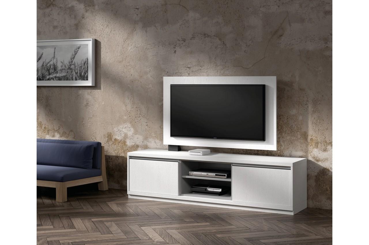 Salon meuble tv meuble tele en palette bois meilleure - Meuble amadeus solde ...