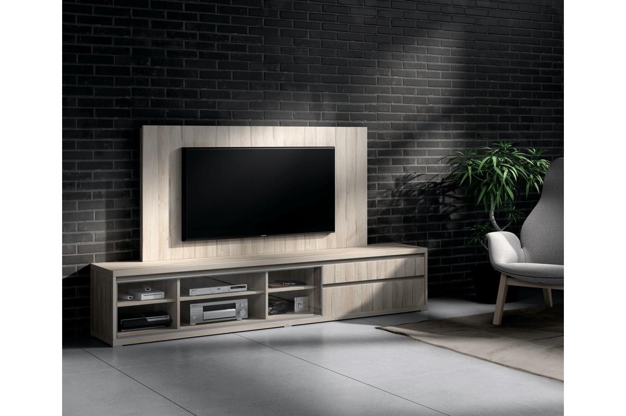 Meuble TV design et panneau TV orme  CbcMeubles -> Meuble Tv Design Cbc