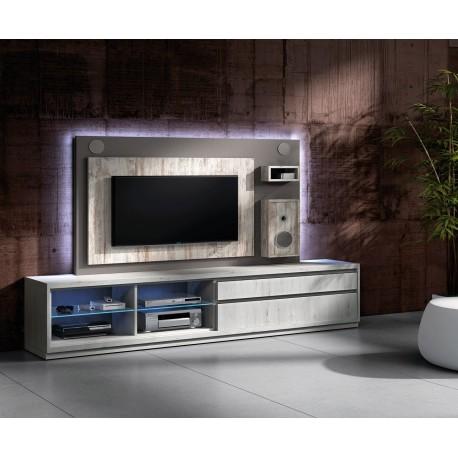 Meuble Tv Design Avec Enceintes Integrees Nora K45 Cbc Meubles