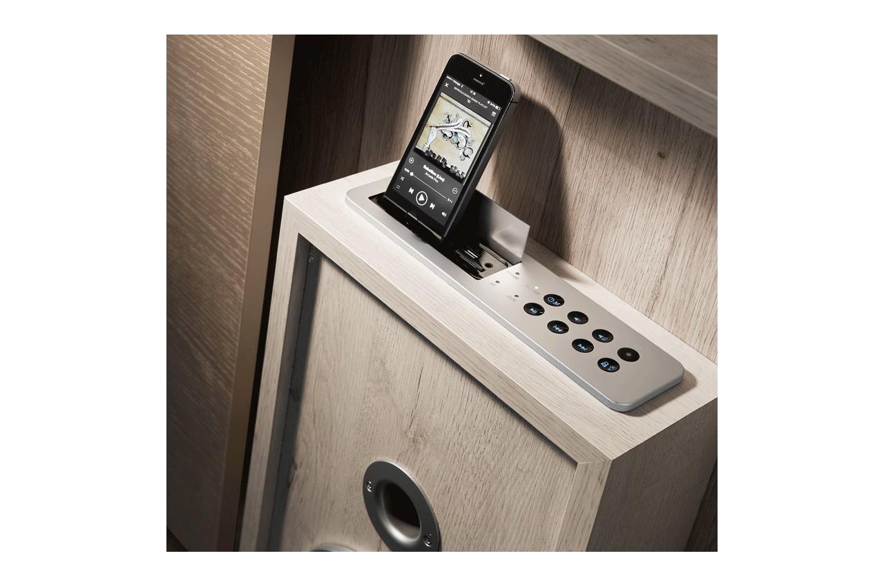 meuble tv design avec enceintes int gr es nora k45 cbc. Black Bedroom Furniture Sets. Home Design Ideas