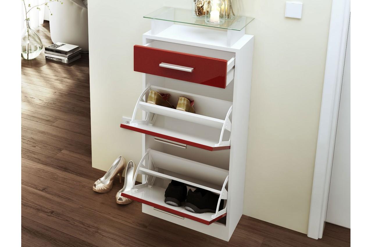 Meuble chaussures design pas cher 10 paires cbc meubles for Meuble design pas cher