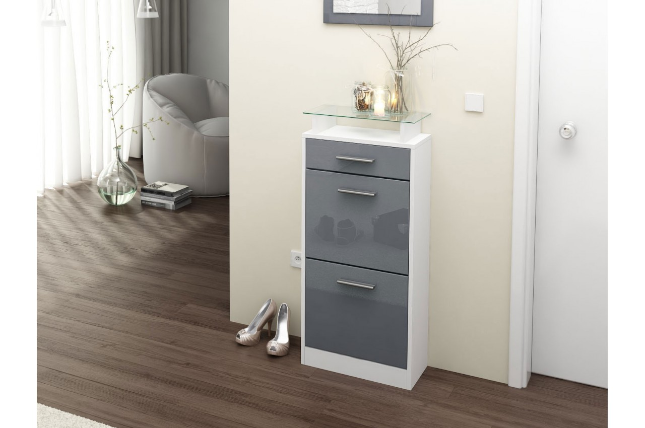meuble chaussures design pas cher bluebell cbc meubles. Black Bedroom Furniture Sets. Home Design Ideas