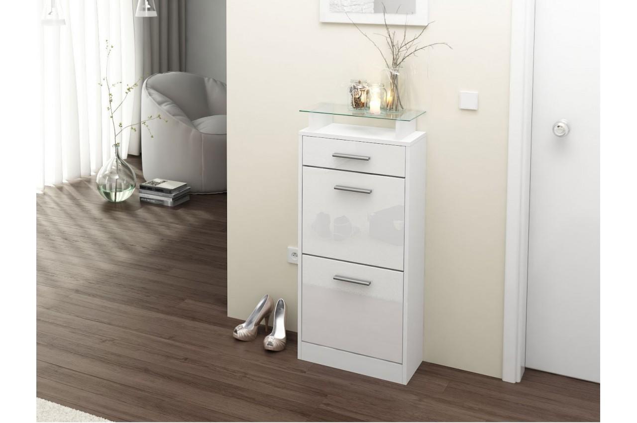 Meuble chaussures design pas cher 10 paires cbc meubles for Copie meuble design pas cher