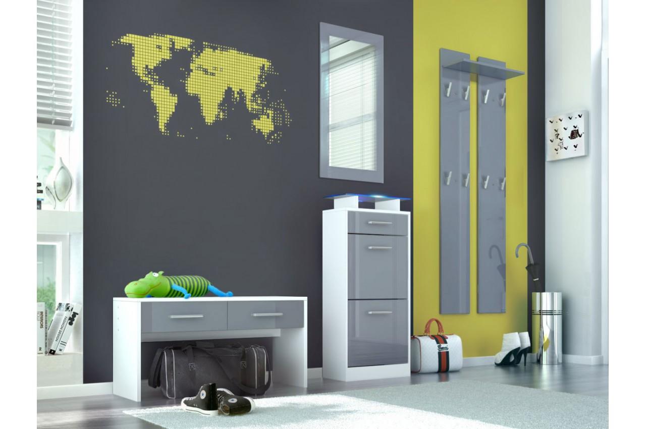 meuble chaussures vestiaire complet cbc meubles. Black Bedroom Furniture Sets. Home Design Ideas