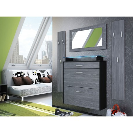 ensemble meuble entr e suspendu bluebell large v1 cbc meubles. Black Bedroom Furniture Sets. Home Design Ideas