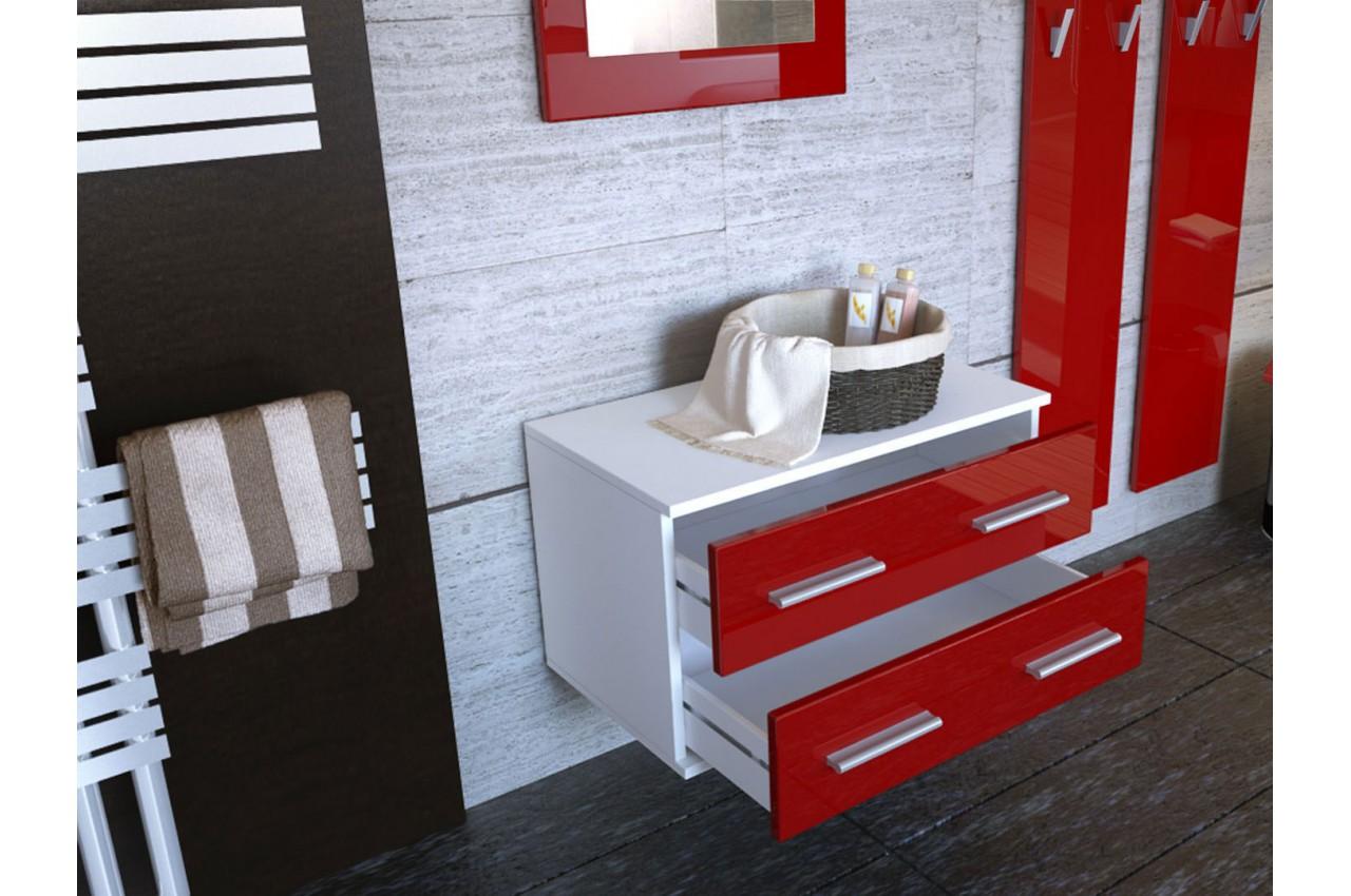 Ensemble de meuble de rangement mural cbc meubles for Meuble mural faible profondeur