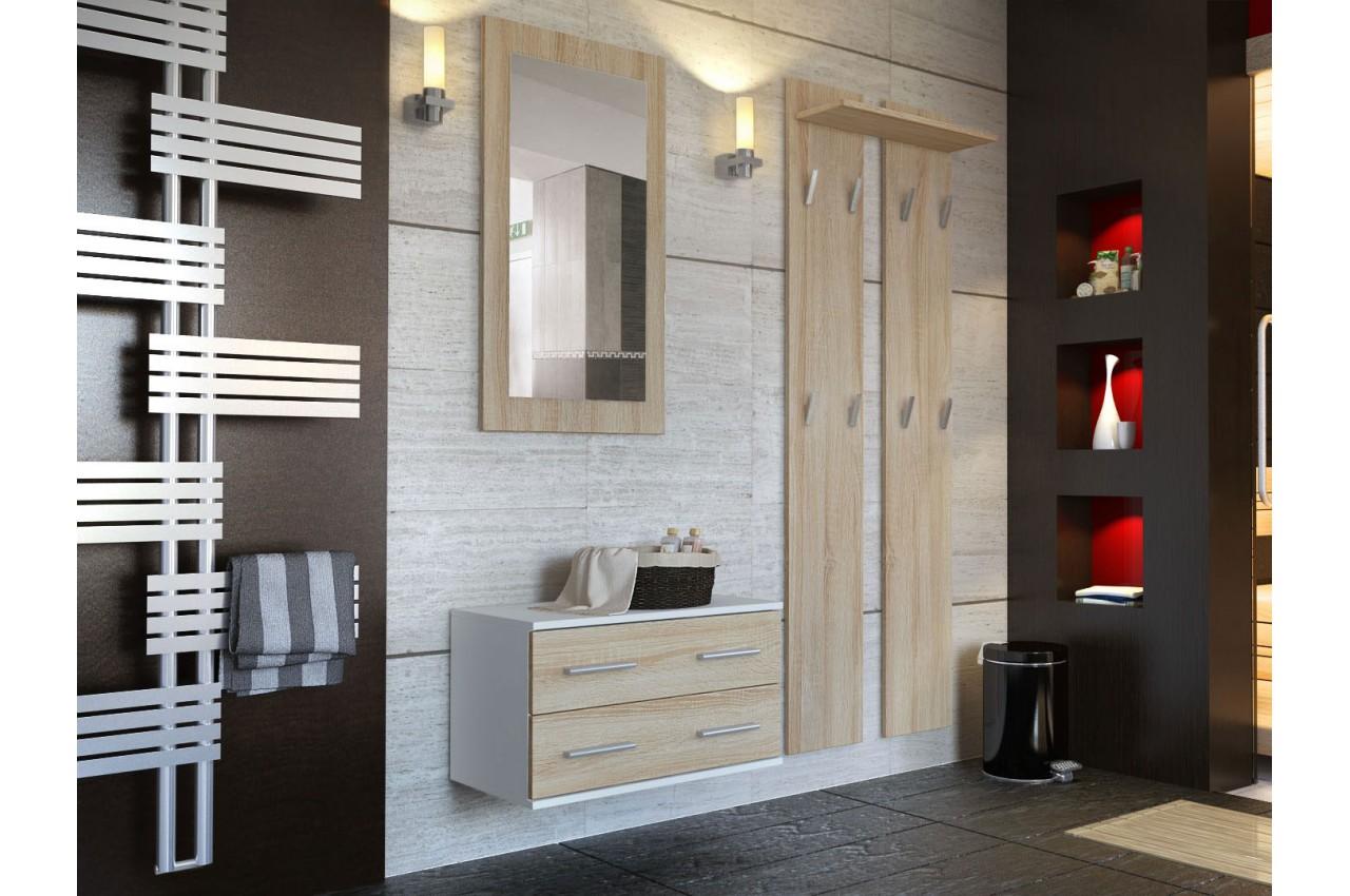 ensemble de meuble de rangement mural cbc meubles. Black Bedroom Furniture Sets. Home Design Ideas