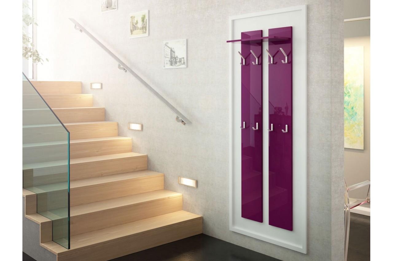 porte manteaux mural design 170 cm cbc meubles. Black Bedroom Furniture Sets. Home Design Ideas