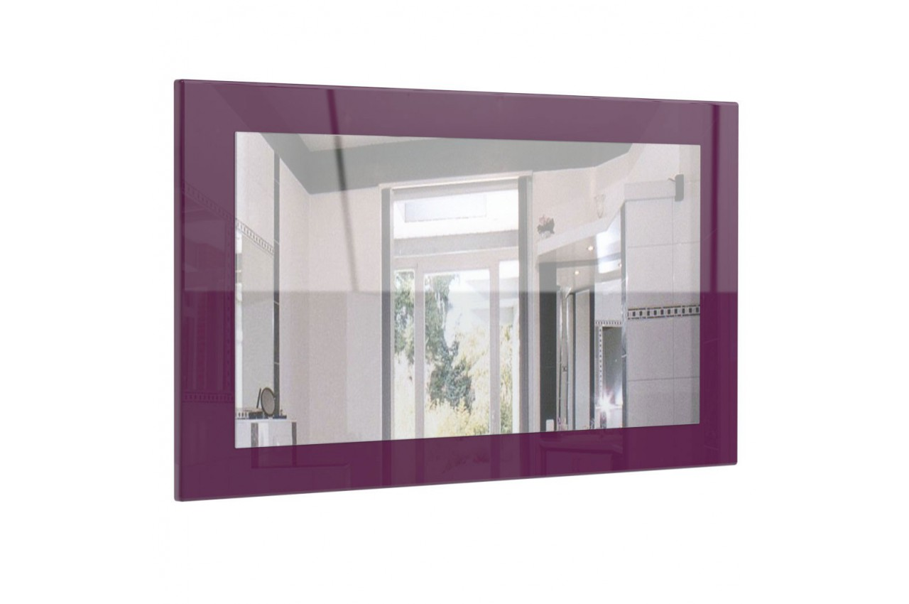 Miroir mural design diff rents rev tements cbc meubles - Revetement mural design ...