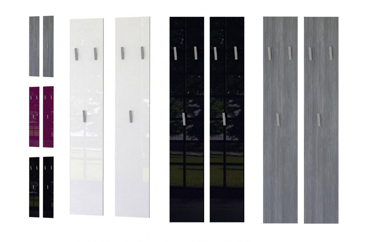 vestiaire mural d 39 entr e design 140 cm isa cbc meubles. Black Bedroom Furniture Sets. Home Design Ideas