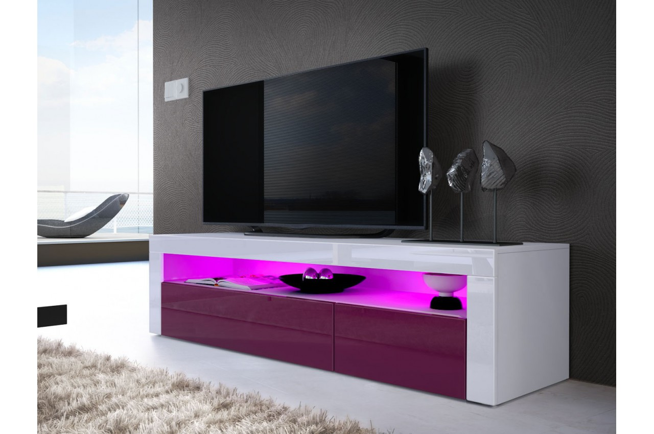 Meuble banc t l design dylan cbc meubles for Meubles tele design