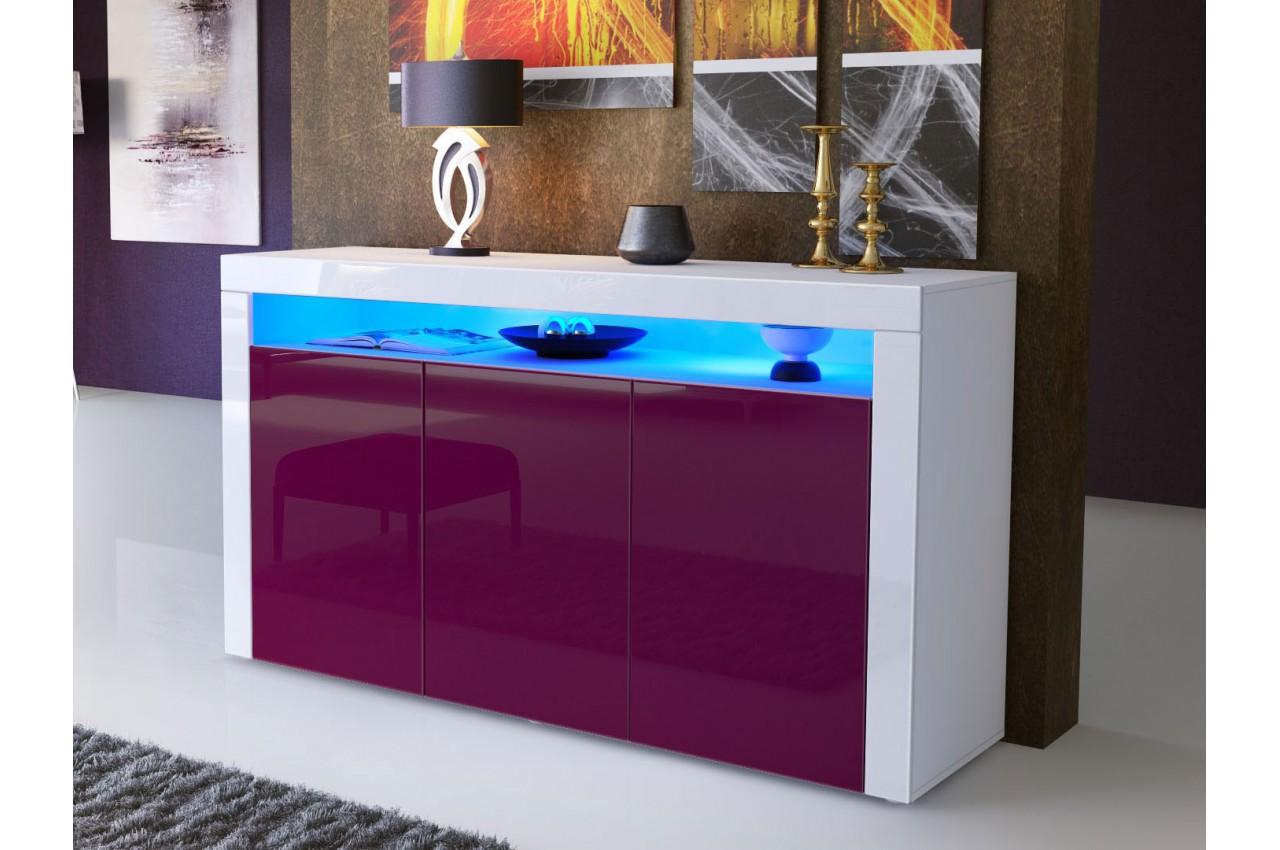 meuble buffet s jour design dylan cbc meubles. Black Bedroom Furniture Sets. Home Design Ideas