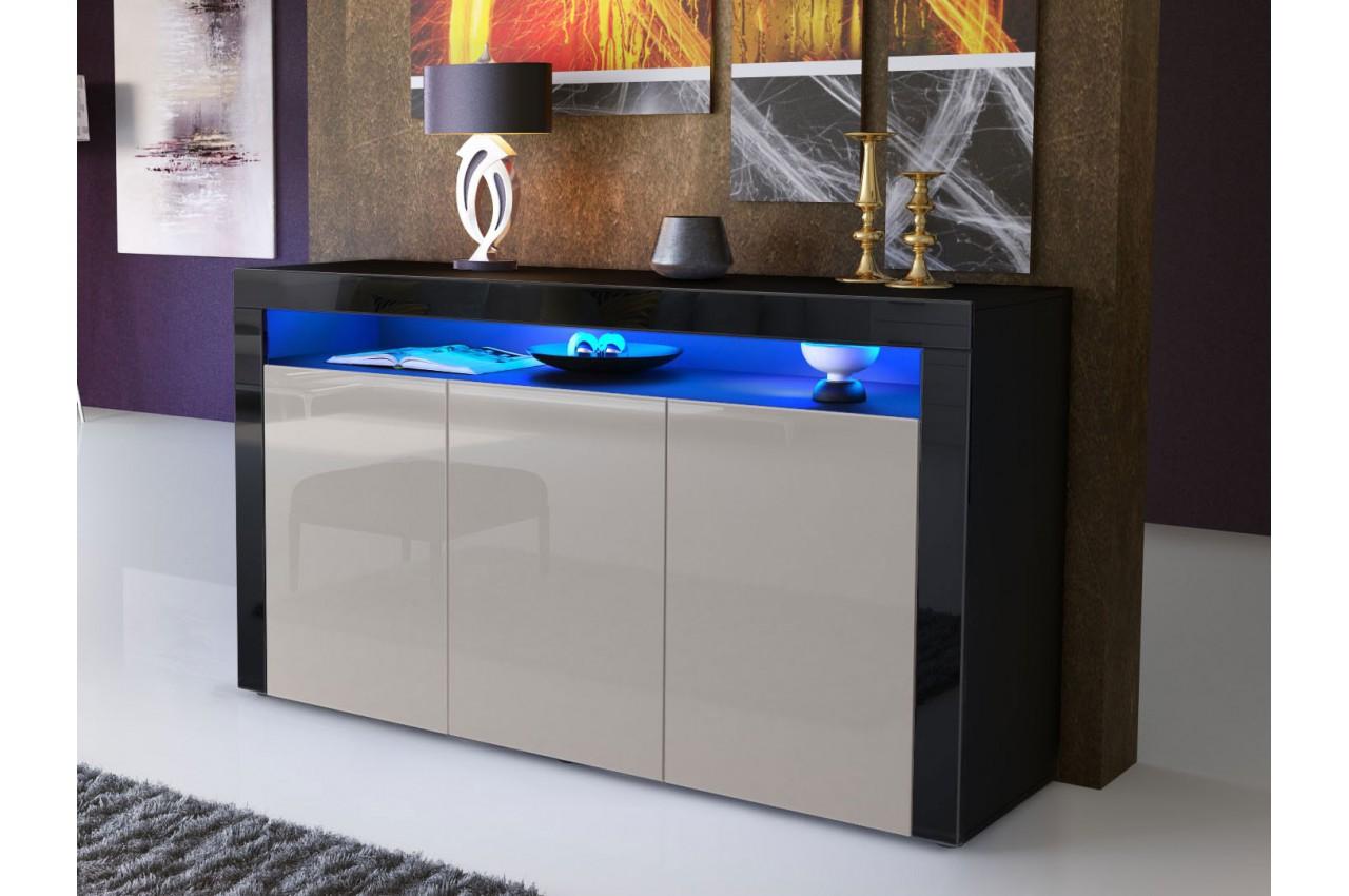 Meuble bahut s jour design dylan cbc meubles for But meuble sejour