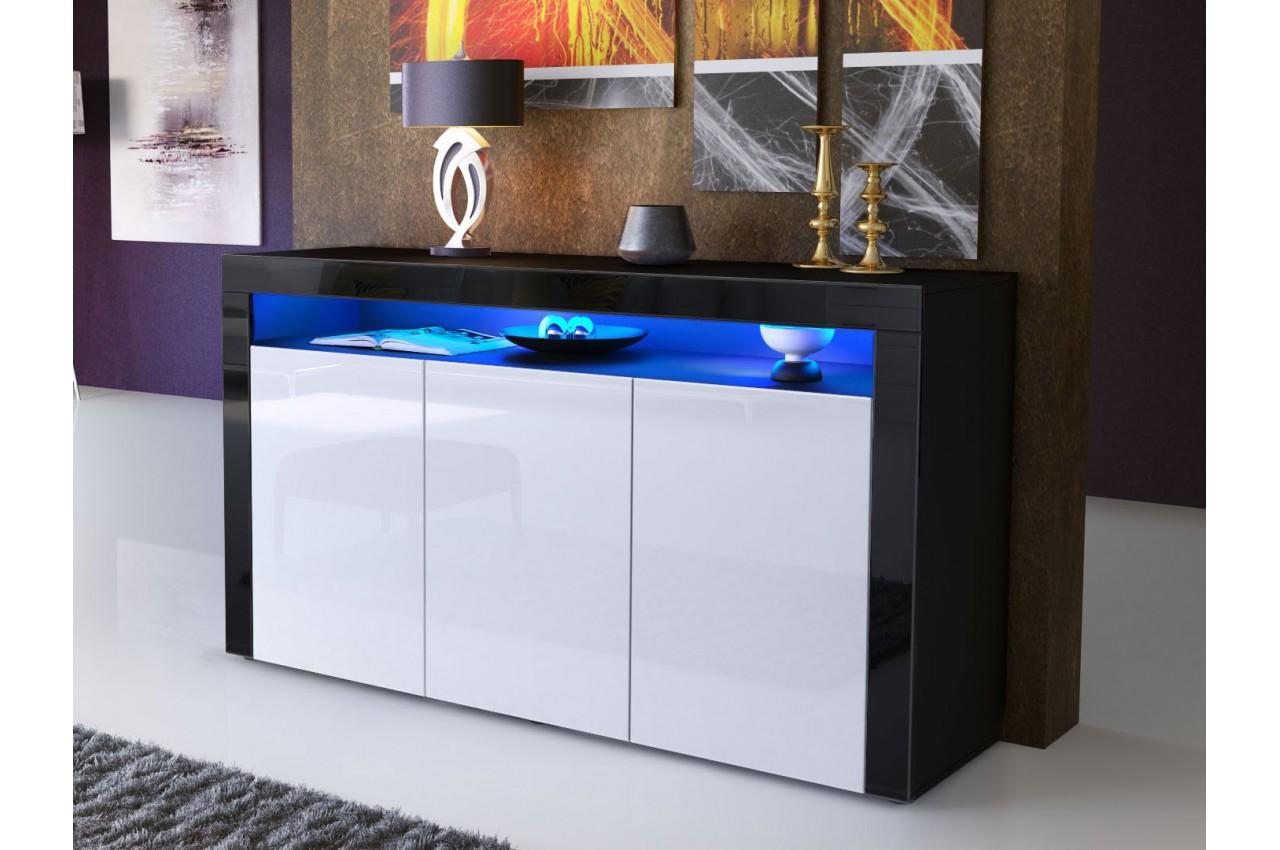 Armoire Chambre Metal : Meuble bahut séjour design dylan cbc meubles