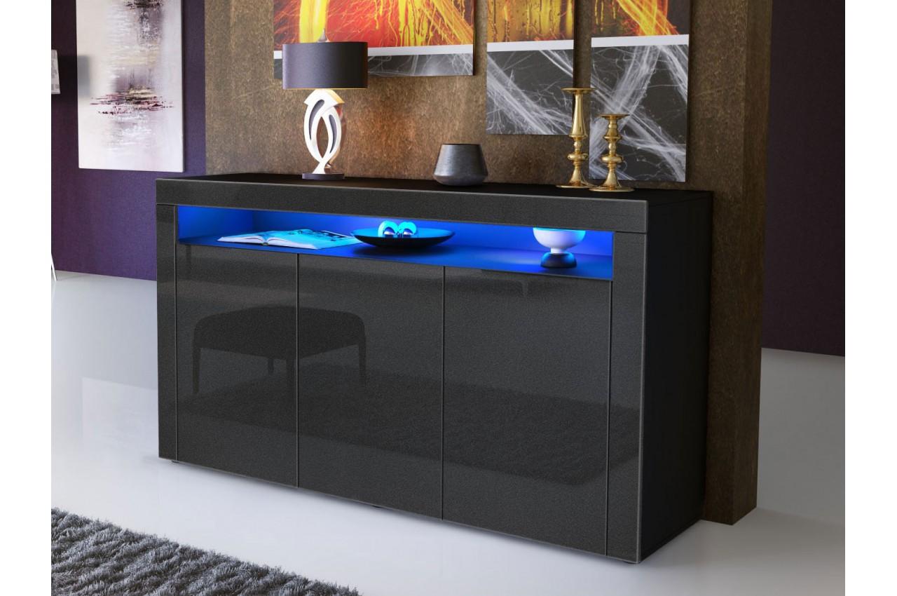 Meuble bahut s jour design dylan cbc meubles for Meuble sejour design