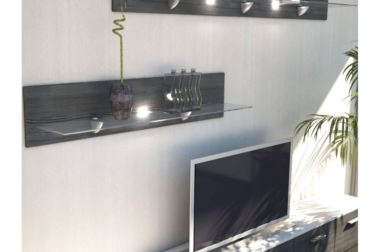 tag re murale design 98 cm mow cbc meubles. Black Bedroom Furniture Sets. Home Design Ideas