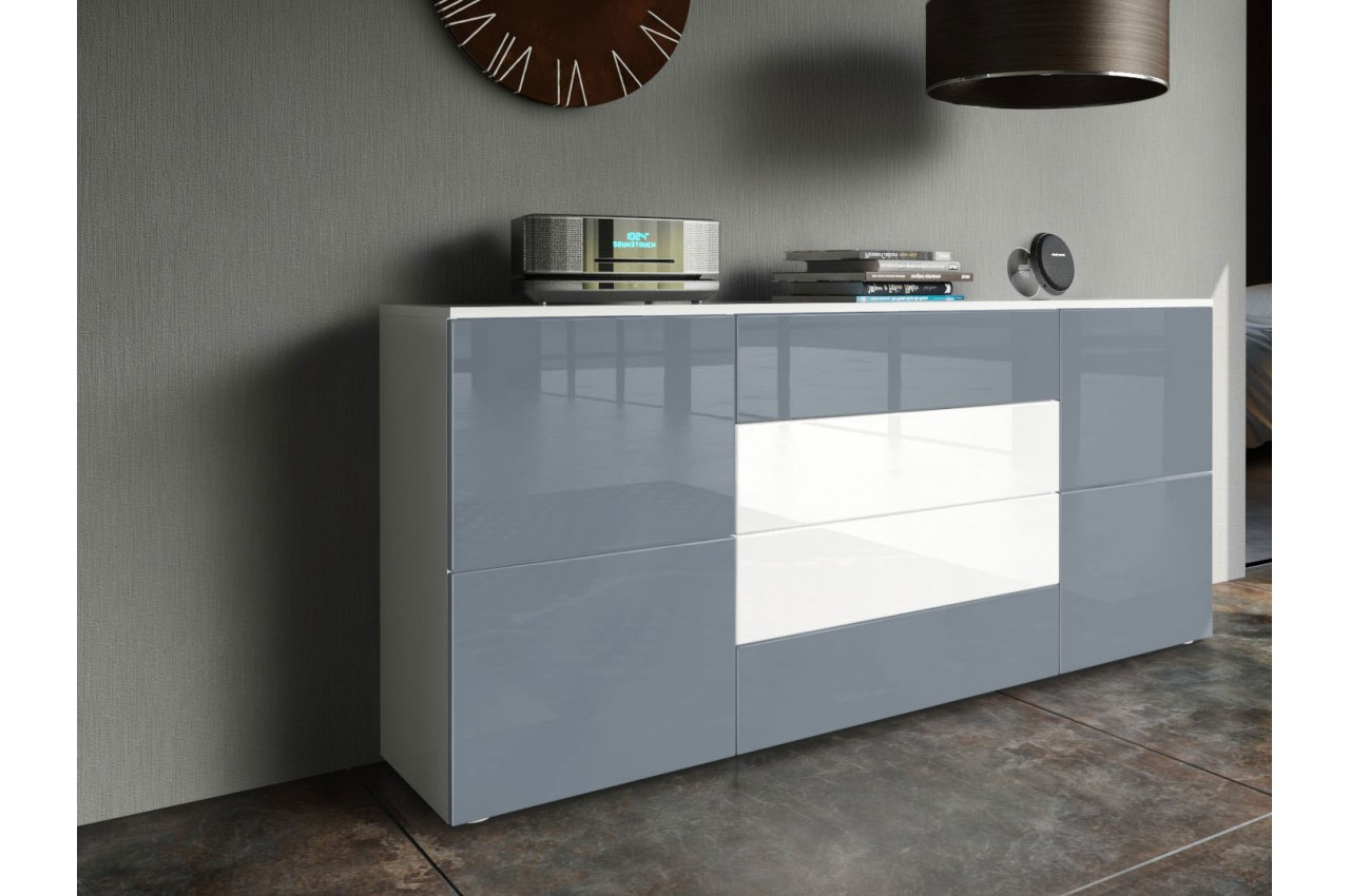 Meuble buffet design samba cbc meubles for Buffet meuble design