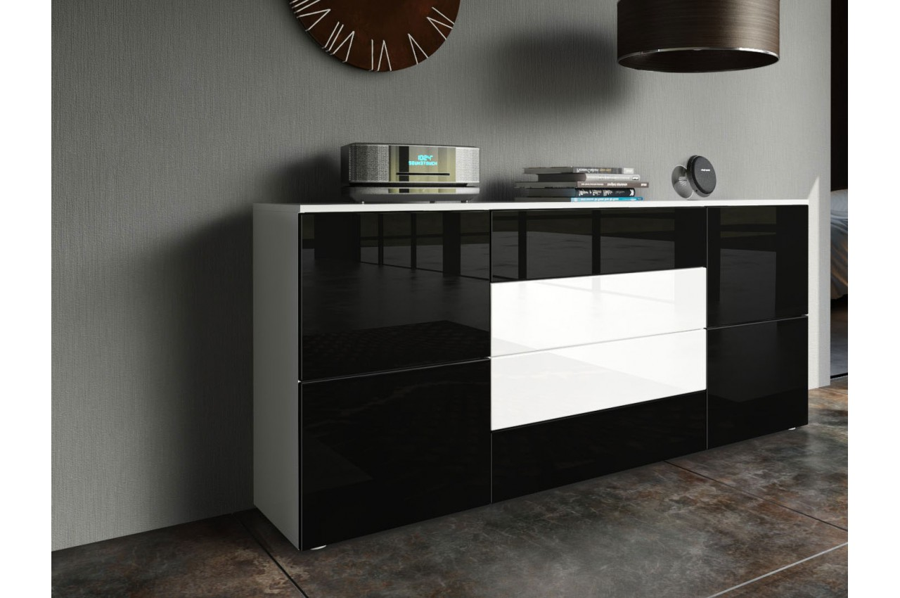 meuble tv buffet design maison design. Black Bedroom Furniture Sets. Home Design Ideas