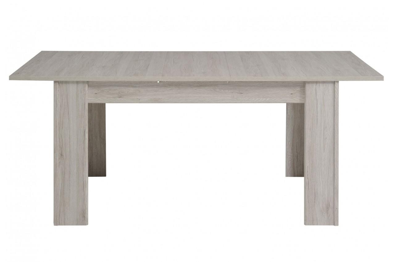 Salle manger gris portofino et blanc brillant louno for Meuble gris salle a manger