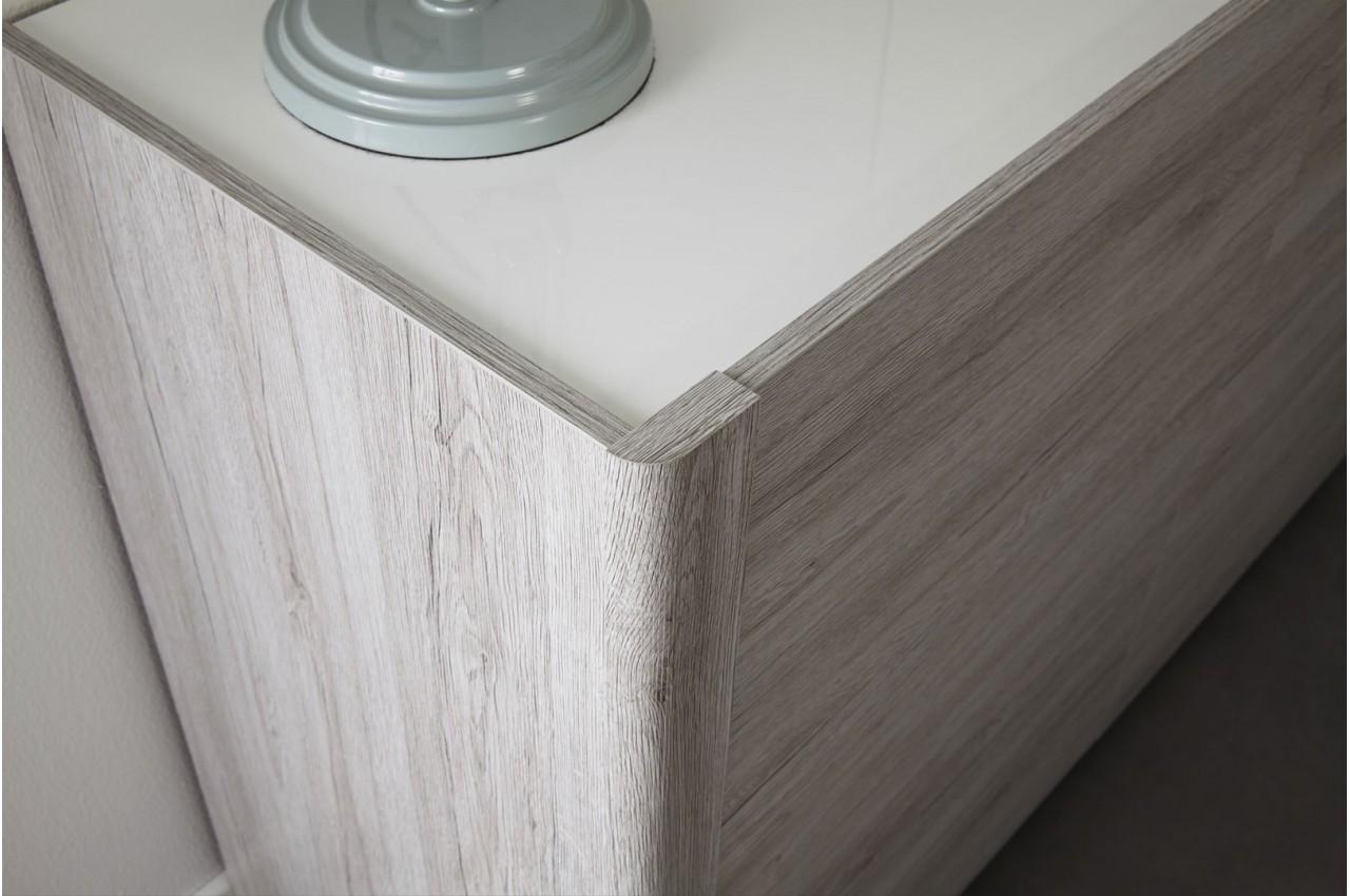 #59514A Salle à Manger Moderne Gris Portofino Et Blanc Brillant  3661 salle a manger moderne blanc et gris 1280x850 px @ aertt.com
