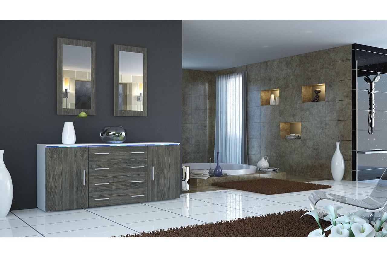 Indogate.com Salon Wenge Et Gris