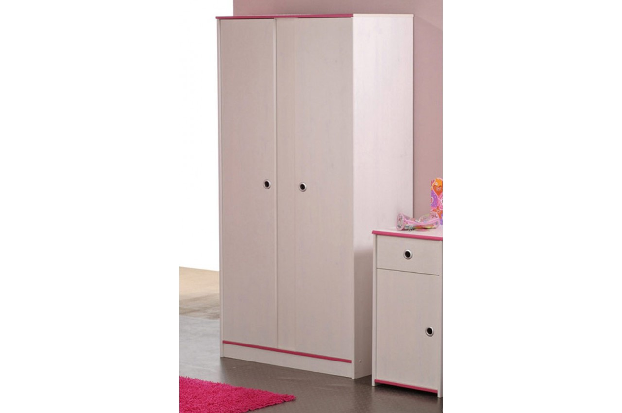 armoire 2 portes fille ou gar on snoopy cbc meubles. Black Bedroom Furniture Sets. Home Design Ideas