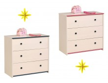 Meubles commodes de chambre coucher cbc meubles - Commode chambre fille ...