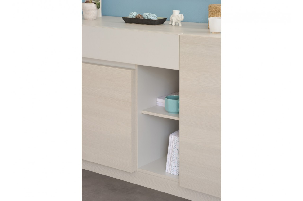Meuble de s jour contemporain lotus cbc meubles for Meubles de sejour contemporains