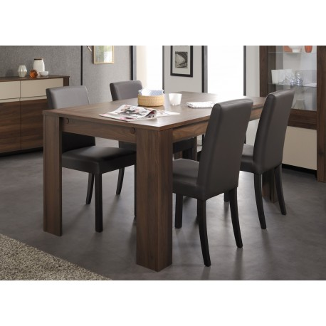 Table de repas rectangulaire pas cher scandy cbc meubles - Table esthetique pas cher ...