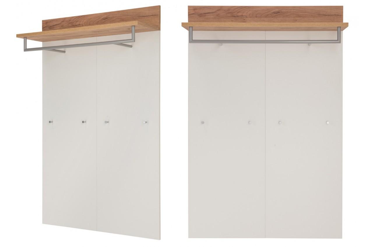 Roody armoire tissus alin a armoire dangle avec miroir for Armoire metallique bureau ikea