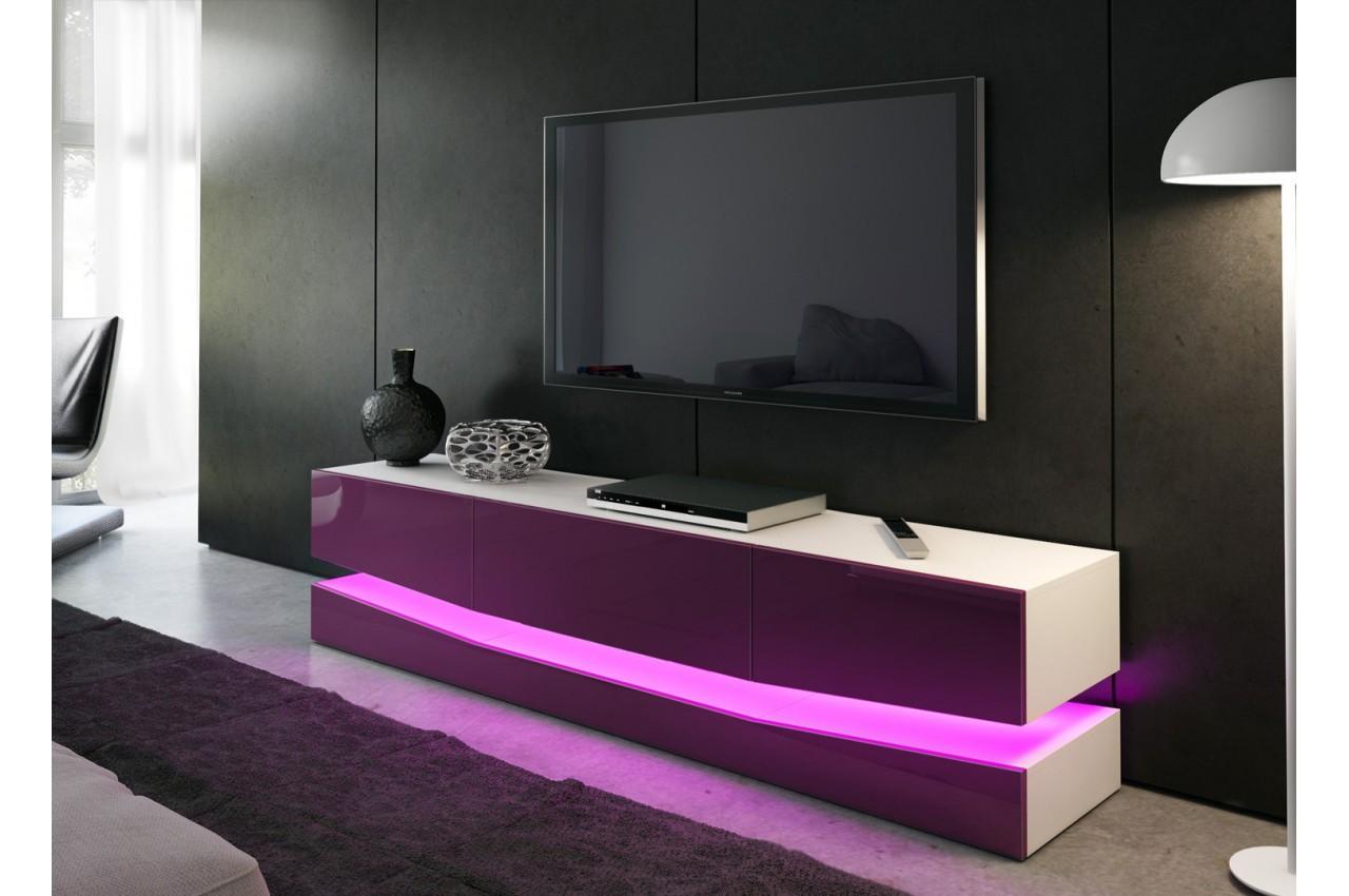 meuble t l bas design miami cbc meubles. Black Bedroom Furniture Sets. Home Design Ideas