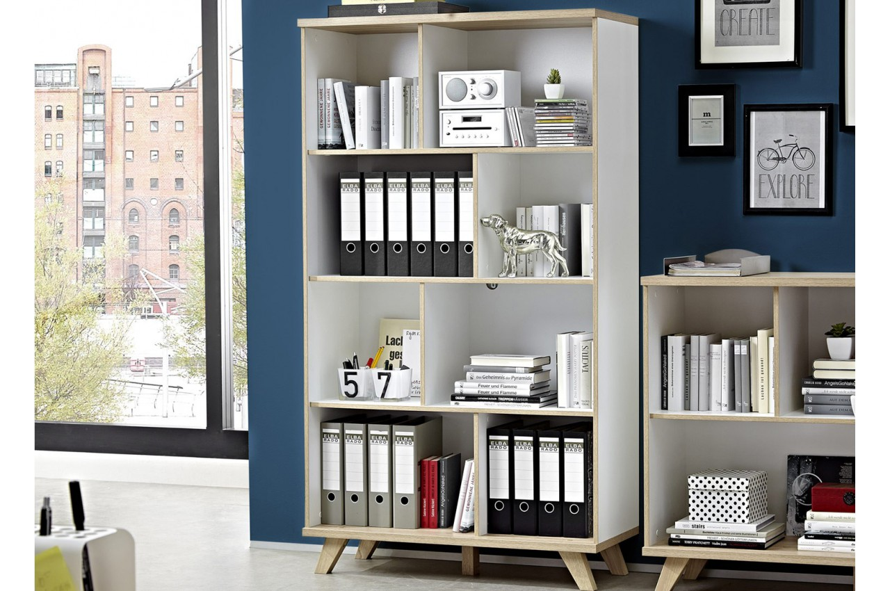 meuble biblioth que ouverte bor al cbc meubles. Black Bedroom Furniture Sets. Home Design Ideas