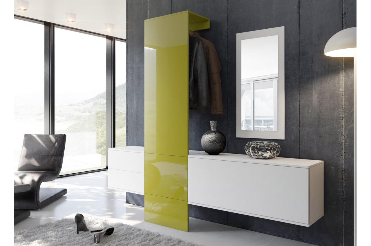meuble dentre mural design lys