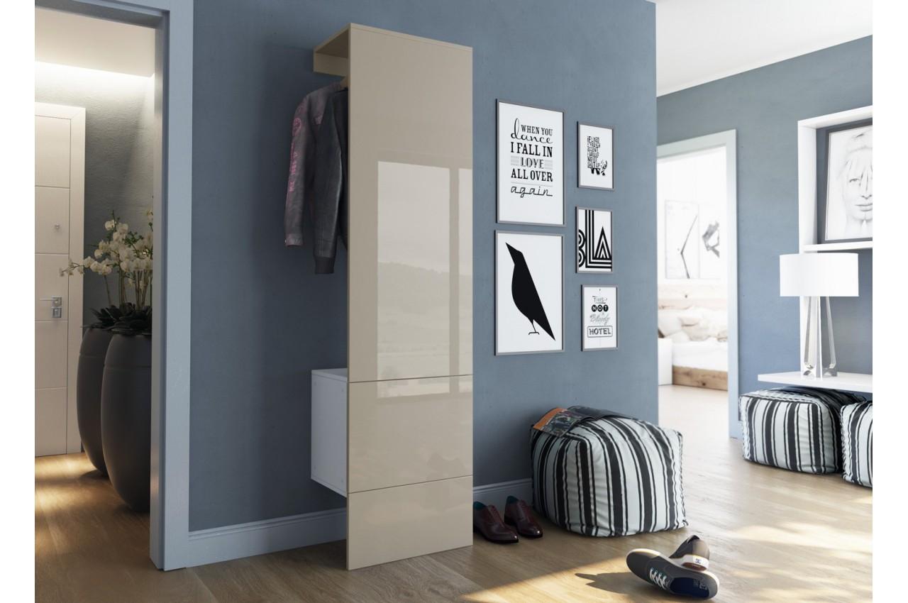 meuble vestiaire mural lys 4 cbc meubles. Black Bedroom Furniture Sets. Home Design Ideas
