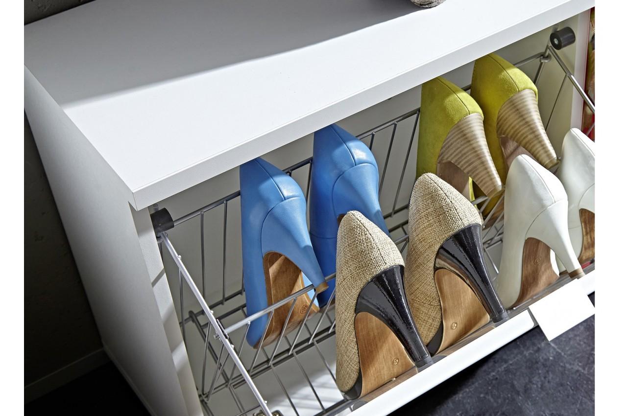 range chaussures vestiaire et miroir major cbc meubles. Black Bedroom Furniture Sets. Home Design Ideas